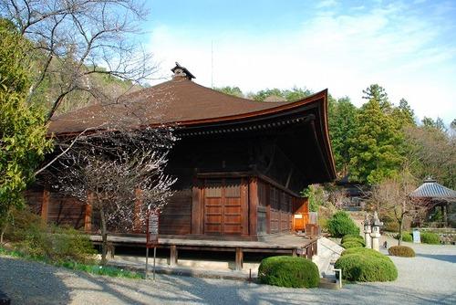 山梨大善寺の本堂の写真
